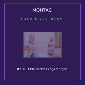 sanftes Yoga yogalina